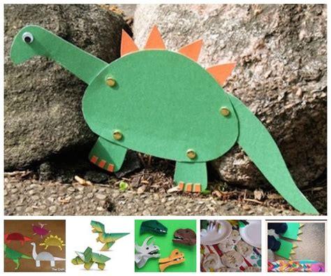 Manualidades originales ¡de dinosaurios!   Pequeocio