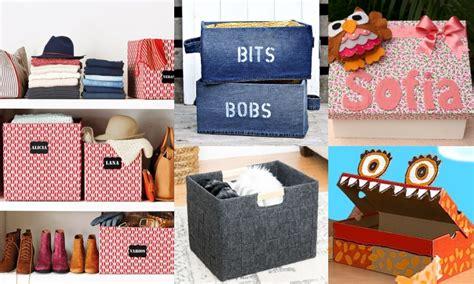 Manualidades para organizar con cajas de cartón ¡Muchas ideas!