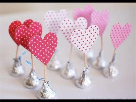 Manualidades para San Valentín: Corazones de Kisses de ...
