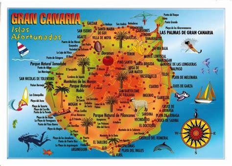 Map Cards   Hunting: 0267 Spain   Gran Canaria Island