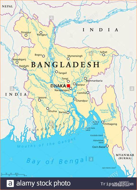 Map of Dhaka Bangladesh   Where is Dhaka Bangladesh ...