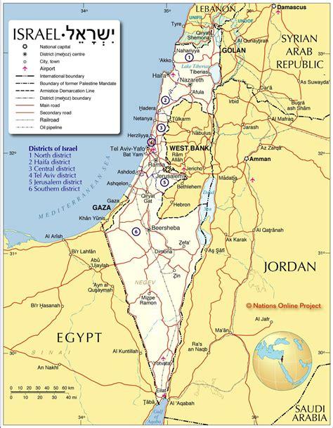 Map of Israel.   Mapa, Mapa africa, Fortaleza de massada