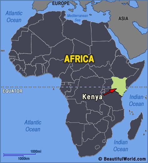 Map of Kenya   Facts & Information   Beautiful World ...