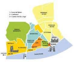 map of lisbon neighborhoods   Google Search | Lisbon ...