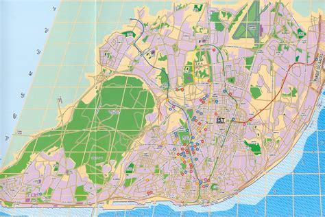 Map of Lisbon, Portugal   Free Printable Maps