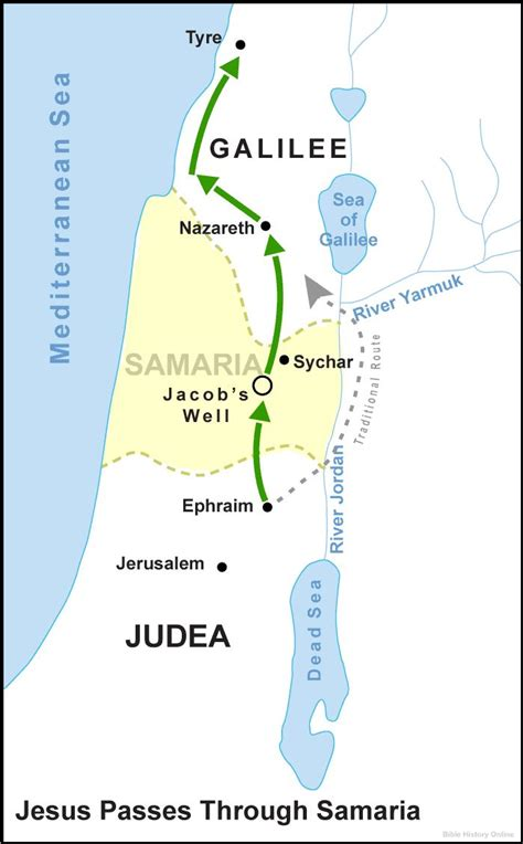 map of samaria in jesus time   Google Search | N.T ...