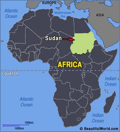 Map of Sudan   Facts & Information   Beautiful World ...