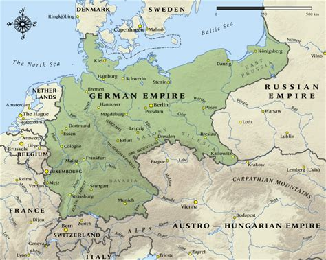 Map of the German Empire in 1914 | NZHistory, New Zealand ...
