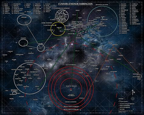 Map of the Honorverse by Genkkis.deviantart.com on ...