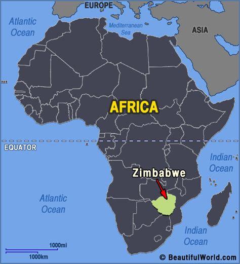 Map of Zimbabwe   Facts & Information   Beautiful World ...