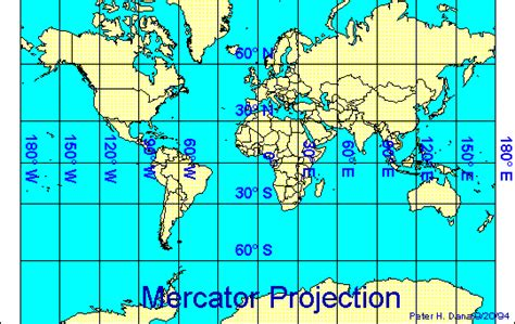 Map Projections, Co Ordinate Systems and GPS