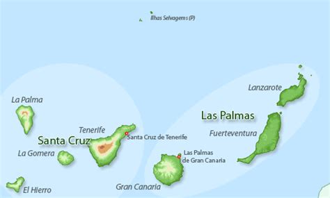 Map search for holiday rentals Canary Islands