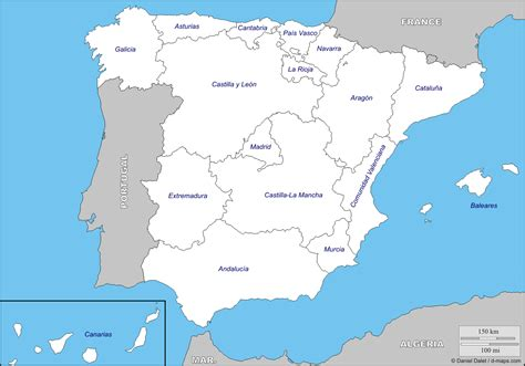 mapa autonomc3adas.gif  1388×972  | Comunidades autonomas ...