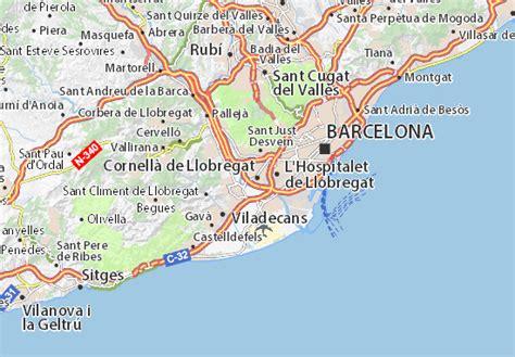 Mapa Cornellà de Llobregat   plano Cornellà de Llobregat ...