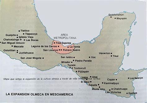 mapa cultura olmeca | Antiguo México en 2019 | Cultura ...
