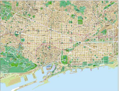 Mapa de Barcelona ~ Online Map