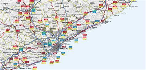 Mapa de carreteras de la Provincia de Barcelona   Tamaño ...