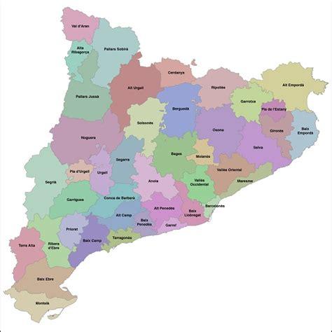 Mapa de Catalunya, más de 100 imágenes para descargar e ...
