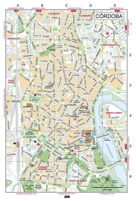 Mapa de Córdoba   Tamaño completo