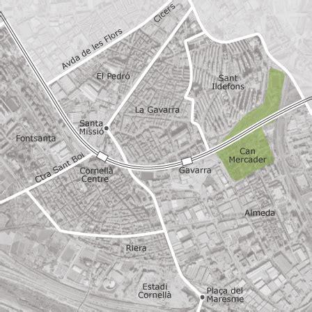 Mapa de Cornellà de Llobregat, Barcelona — idealista