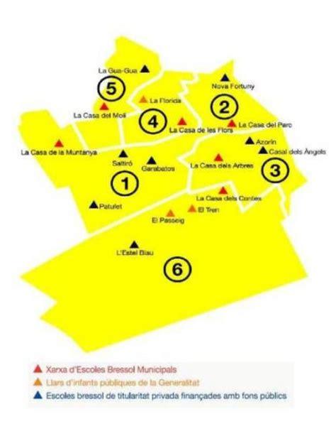 Mapa de  Escoles Bressol  | Ajuntament de L'Hospitalet