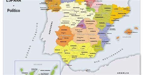 Mapa de España: Mapa de españa grande