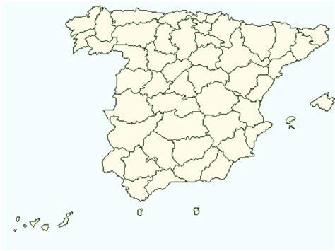 Mapa de España: Mapa de españa para colorear