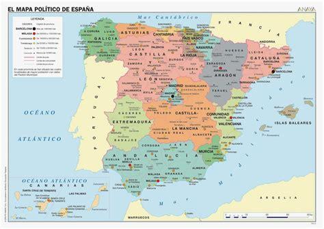 Mapa de España   Turismo.org