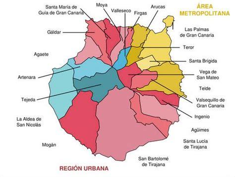 Mapa de Gran Canaria | Canarias | España