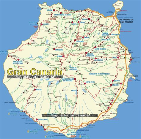 Mapa De Gran Canaria | Mapa