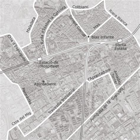 Mapa de Hospitalet de Llobregat, Barcelona — idealista
