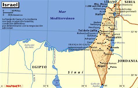 MAPA DE ISRAEL   MAPAS MAPAMAPAS MAPA