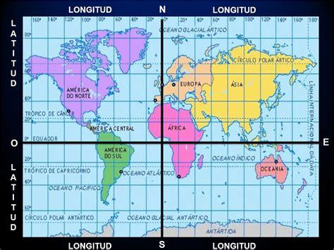 Mapa De Meridianos | Mapa