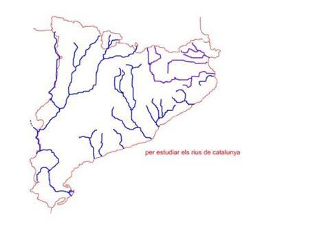 Mapa De Rius De Catalunya | Mapa