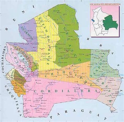Mapa de Santa Cruz   Bolivia | Bolivia santa cruz, Bolivia map