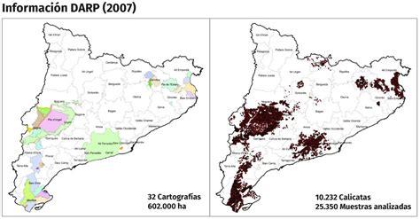 Mapa de sòls 1:250.000. Institut Cartogràfic i Geològic de ...