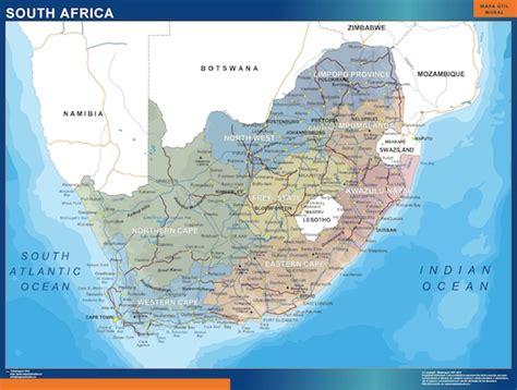 Mapa de Sudáfrica político | Mapas España y el mundo