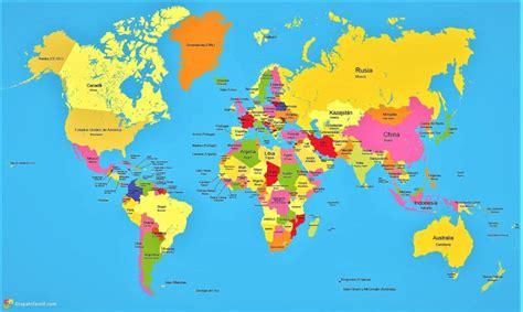 mapa de todo el mundo ingles   Buscar con Google ...