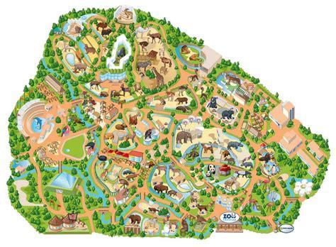 Mapa del Zoo Aquarium de Madrid | Zoo map, Zoo ...