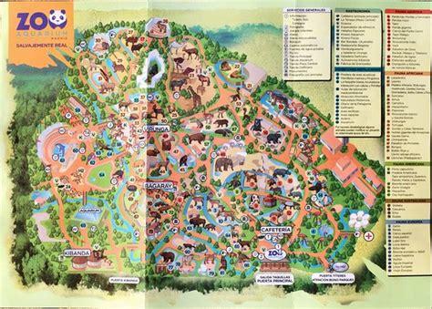 Mapa Del Zoo De Madrid | My blog