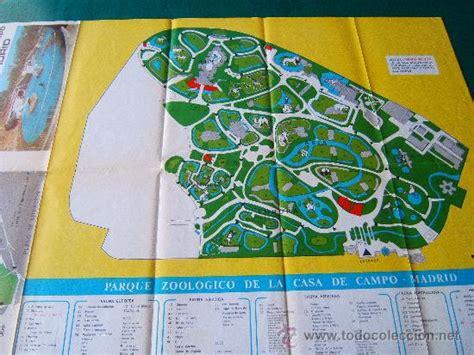 Mapa Del Zoo De Madrid