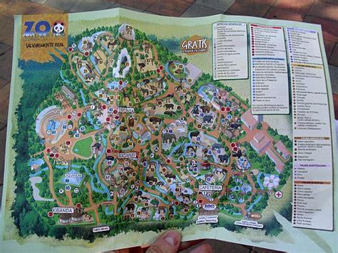 Mapa Del Zoo De Madrid   SEONegativo.com