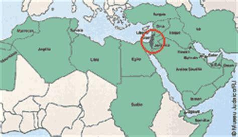 Mapa Do Mundo Israel