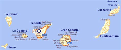 mapa islas Canarias, Spain | Islas canarias, La gomera y ...