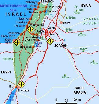 Mapa Israel Mapamundi
