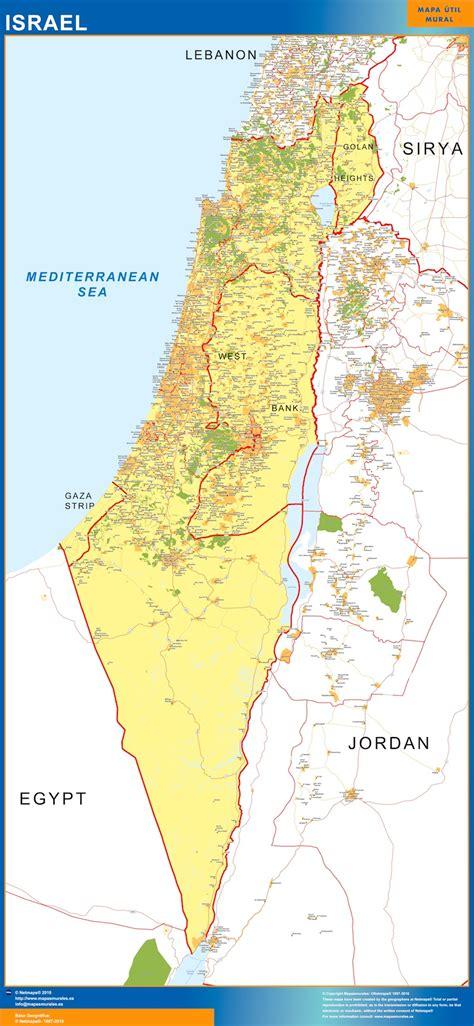 Mapa Israel   Mapas México y Latinoamerica