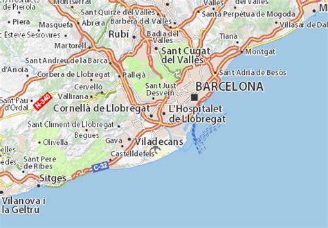 Mapa L Hospitalet de Llobregat   plano L Hospitalet de ...