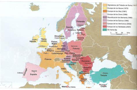 Mapa   Las Organizaciones Supranacionales del Continente ...