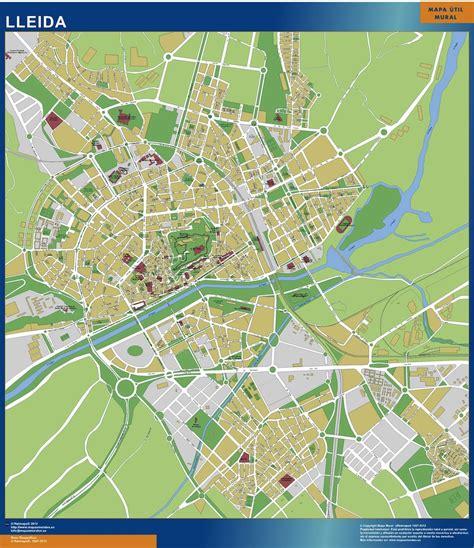 mapa Lleida Codigos Postales | Mapas de Códigos Postales ...