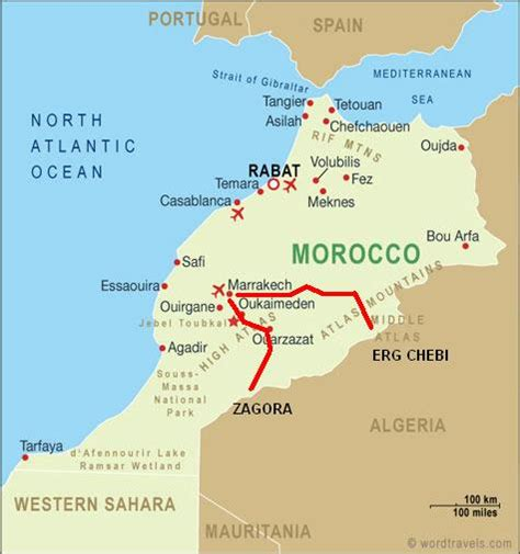 mapa marruecos   Buenos Aires: Aquí me Quedo